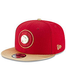 New Era Atlanta Hawks Triple Gold 9FIFTY Snapback Cap