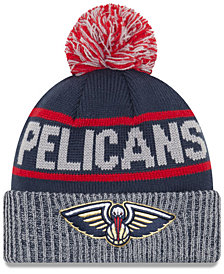New Era New Orleans Pelicans Court Force Pom Knit Hat
