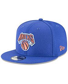 New Era New York Knicks Team Metallic 9FIFTY Snapback Cap