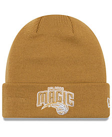 New Era Orlando Magic Fall Time Cuff Knit Hat