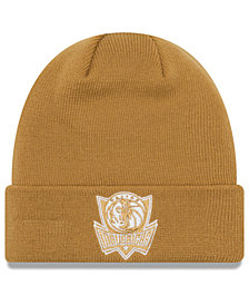 New Era Dallas Mavericks Fall Time Cuff Knit Hat