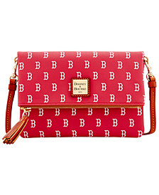 Dooney & Bourke Boston Red Sox Foldover Crossbody Purse