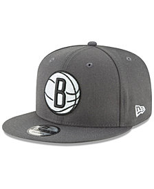 New Era Brooklyn Nets Team Metallic 9FIFTY Snapback Cap