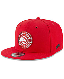 New Era Atlanta Hawks Team Metallic 9FIFTY Snapback Cap