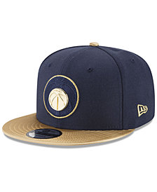 New Era Washington Wizards Triple Gold 9FIFTY Snapback Cap
