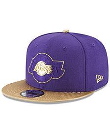 New Era Los Angeles Lakers Triple Gold 9FIFTY Snapback Cap