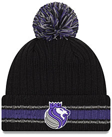 New Era Sacramento Kings Basic Chunky Pom Knit Hat
