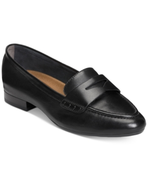 Retro Vintage Flats and Low Heel Shoes Aerosoles Map Out Loafers Womens Shoes $89.00 AT vintagedancer.com