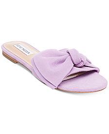 Steve Madden Women's Truesdale Bow Flat Sandals