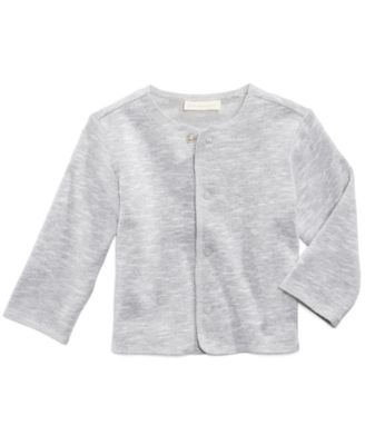 Marled Snap-Front Cardigan, Baby Boys, Created for Macy's