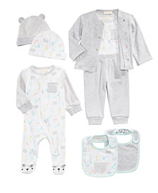 First Impressions Zoo-Print Mix & Match Collection, Baby Boys & Girls, Created for Macy's
