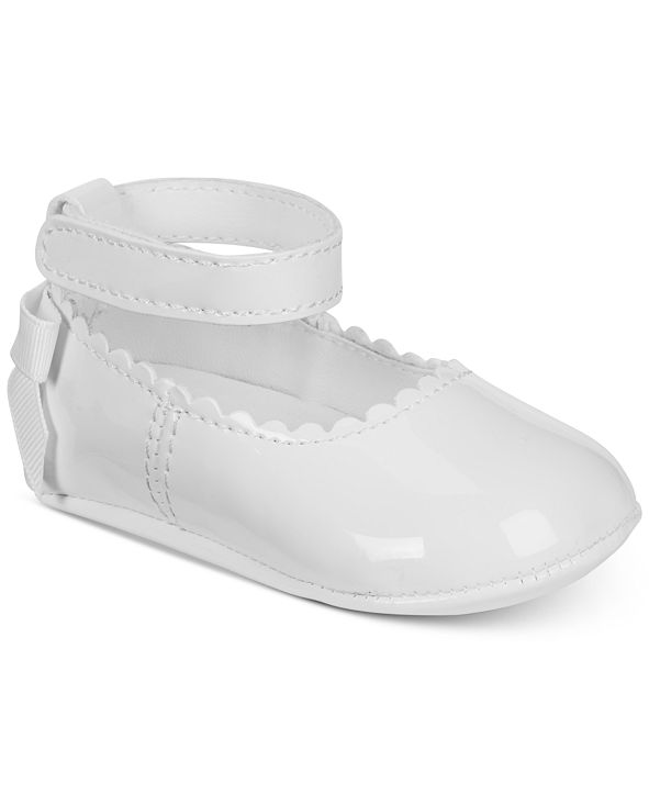 First Impressions Baby Girls Ballet Shoes, Created for Macy's