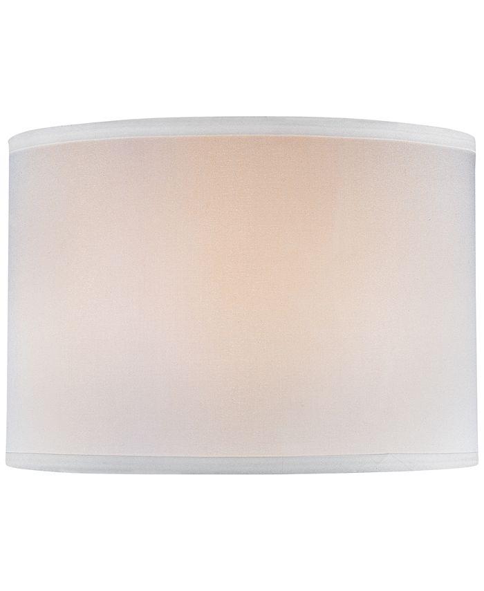 "Lite Source - 16"" Single Linen Drum Shade"
