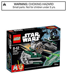 LEGO® 262-Pc. Star Wars Yoda's Jedi Starfighter™ 75168