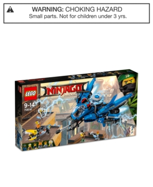 Lego 876Pc Ninjago Lightning Jet Set
