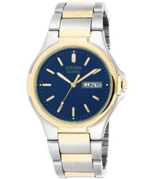 Citizen Men's Two Tone Stainless Steel Bracelet Watch 38mm BK3564-52L