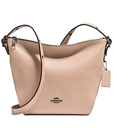 Crossbody Dufflette in Refined Leather