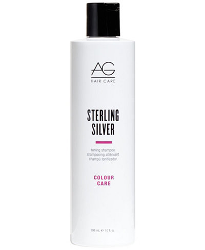AG Hair Colour Care Sterling Silver Toning Conditioner, 10-oz., from PUREBEAUTY Salon & Spa