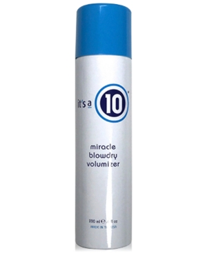 It's a 10 Miracle Blowdry Volumizer, 6-oz, from Purebeauty Salon & Spa