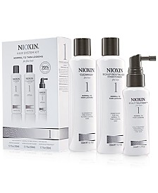 Nioxin 3-Pc. System 1 Set, from PUREBEAUTY Salon & Spa