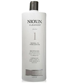 Nioxin System 1 Cleanser, 10-oz., from PUREBEAUTY Salon & Spa