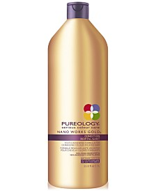 Pureology Nano Works Gold Conditioner, 33.8-oz., from PUREBEAUTY Salon & Spa