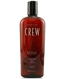 American Crew Light Hold Styling Gel, 8.45-oz., from PUREBEAUTY Salon & Spa