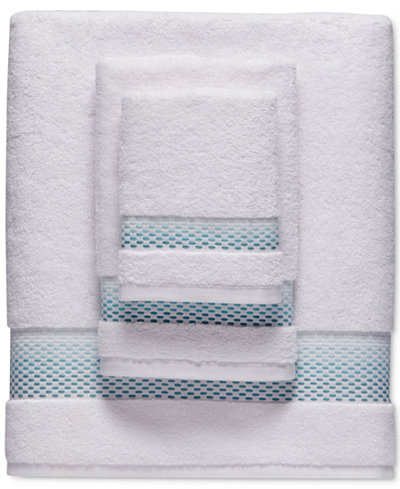 bluebellgray Rain Cotton Dobby Washcloth