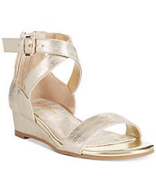Kenneth Cole Reaction Little & Big Girls Mode Cross Sandals