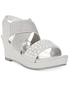 Kenneth Cole Reaction Reed Glimmer Sandals, Little Girls & Big Girls