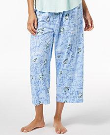 HUE® Play Nice Printed Capri Pajama Pants