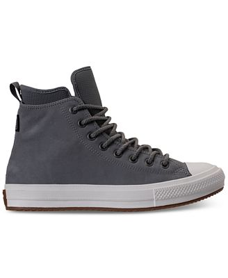 Fendi Black Nubuck Chuck Taylor All Star Boots