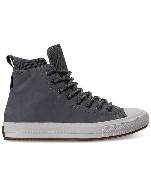 50dfc355e5a6e6 ... Converse Men s Chuck Taylor All Star Waterproof Boot Nubuck Hi Casual  Sneakers from Finish ...