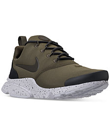 Nike Big Boys'   Presto Fly SE Casual Sneakers from Finish Line