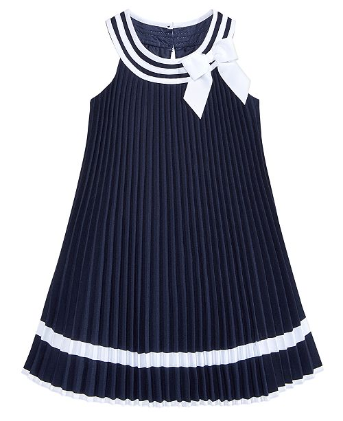 ae5bf7210dd Bonnie Jean Pleated Sailor Dress, Little Girls & Reviews - Dresses ...