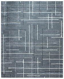 "Hotel Collection Area Rug, City Grid CG1 8' 6"" x 11' 6"", Created for Macy's"