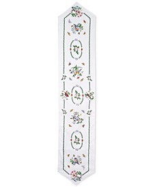 "Portmeirion Botanic Birds 72"" Table Runner"
