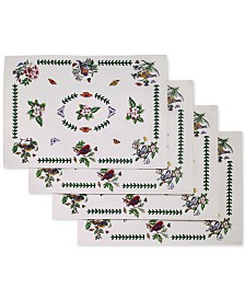 Portmeirion Botanic Birds 4-Pc. Placemat Set