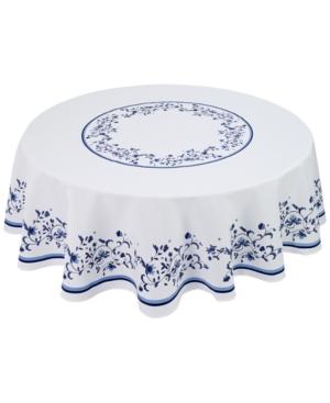 Portmeirion Blue Portofino 70 Round Tablecloth