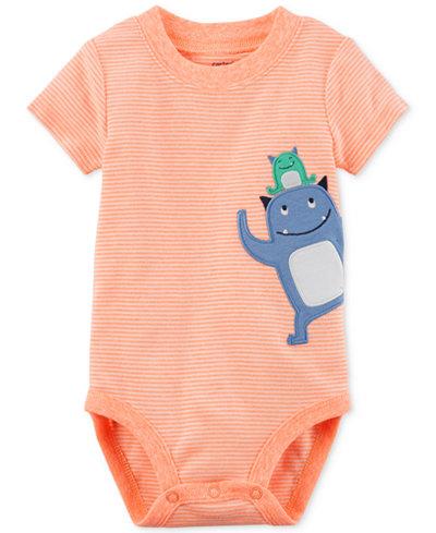 Carter's Monsters Cotton Bodysuit, Baby Boys