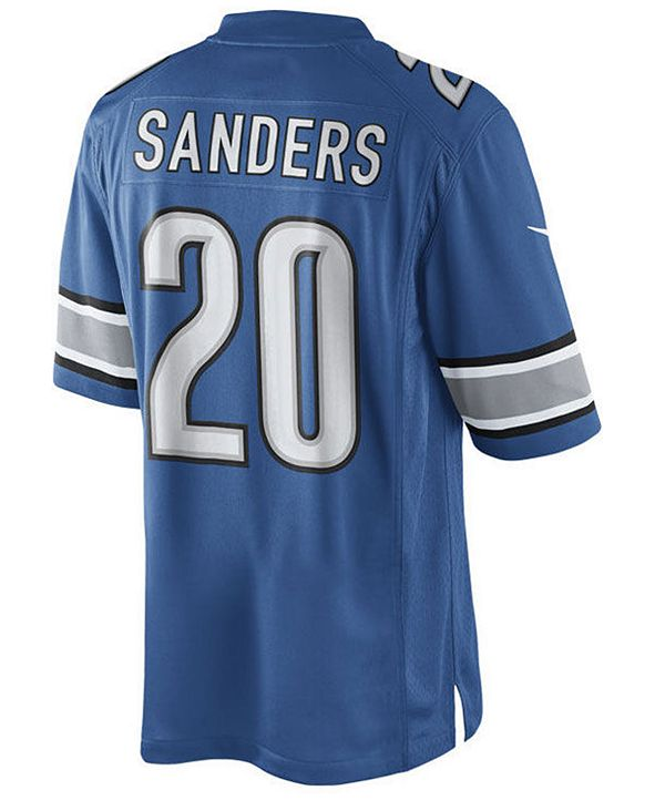 Nike Men's Barry Sanders Detroit Lions Limited Retired Player Jersey
