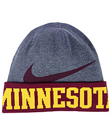 Nike Minnesota Golden Gophers Training Beanie Knit Hat