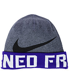 Nike TCU Horned Frogs Training Beanie Knit Hat