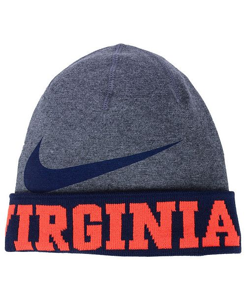 be114a23c3932 Nike. Virginia Cavaliers Training Beanie Knit Hat. Be the first to Write a  Review. main image  main image