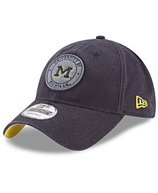 New Era Michigan Wolverines Varsity Patch 9TWENTY Cap
