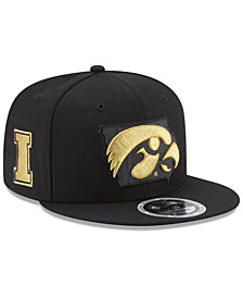 New Era Iowa Hawkeyes State Flective 9FIFTY Snapback Cap