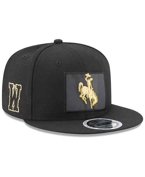 New Era Wyoming Cowboys State Flective 9FIFTY Snapback Cap