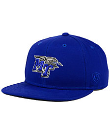 Top of the World Middle Tennessee State Blue Raiders League Snapback Cap