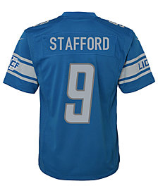 Nike Matthew Stafford Detroit Lions Game Jersey, Big Boys (8-20)