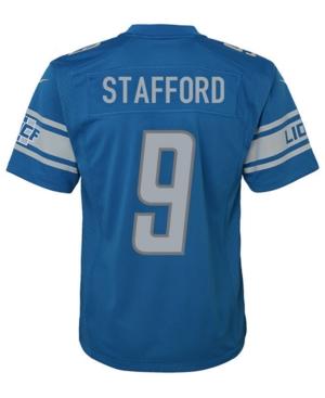 Nike Matthew Stafford Detroit Lions Game Jersey, Big Boys (8-20)